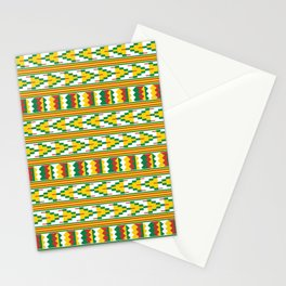 Afro Kente Cloth 4 Stationery Cards