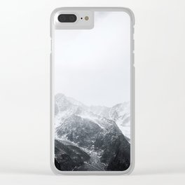 Morning in the Mountains - Nature Photography Clear iPhone Case