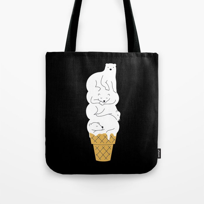 The Melting Polar Tote Bag