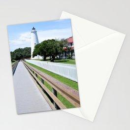 Ocracoke Island Lighthouse View North Carolina Stationery Cards