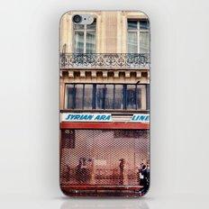Paris Streets 1 iPhone & iPod Skin