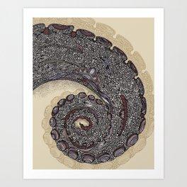 Tentacula Art Print