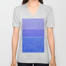 Blue City of Chefchaouen in Morocco Unisex V-Neck