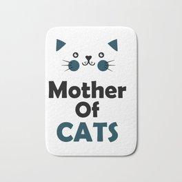 Mother of cats Bath Mat