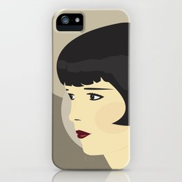 LOUISE BROOKS iPhone Case