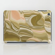 Pink botswana agate iPad Case