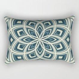 Spiral Rose Pattern E 4/4 Rectangular Pillow