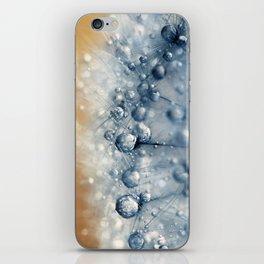Sea Blue Dandy iPhone Skin