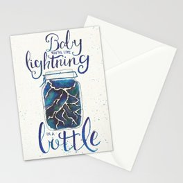 Lightning In A Bottle Stationery Cards