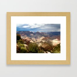 Through Time and Space Framed Art Print