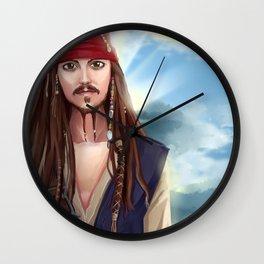 Captain Jack Sparrow - Pirates of the Caribbean Wall Clock