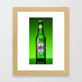 Ice cold Heineken Framed Art Print