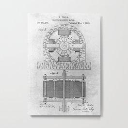 Electro magnetic motor Metal Print