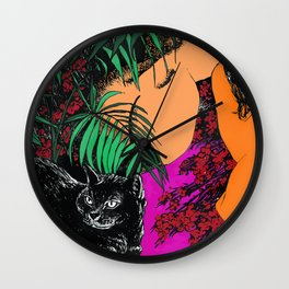 Cat Ladies Wall Clock