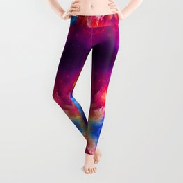 Abstract prints Troncho Modas Leggings