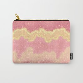 Summer Sweets:  Pink Lemonade Galaxy Carry-All Pouch