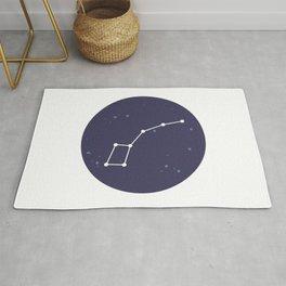 Ursa Minor Constellation Rug