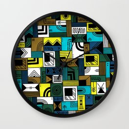 Napkin Darts Wall Clock