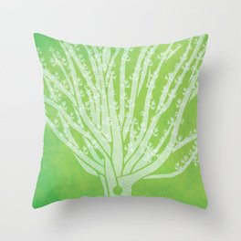 Viking Oak print Throw Pillow