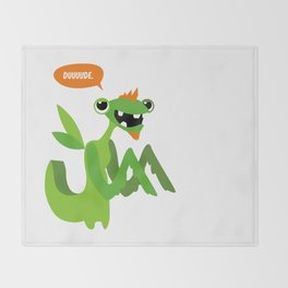 Grasshopper - Dude. Throw Blanket