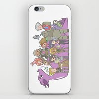dragon age iPhone & iPod Skins featuring Dragon Age - Origins Companions by Choco-Minto