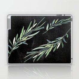 Eucalyptus leaves on chalkboard Laptop & iPad Skin