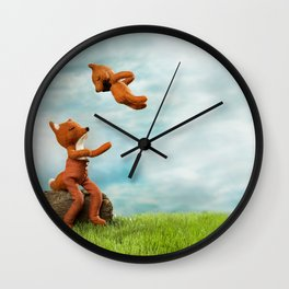 """Más Arriba, Más Arriba"" Wall Clock"