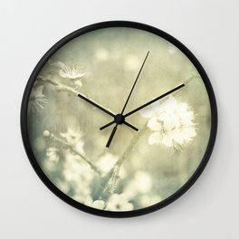 Blossoms of Spring Wall Clock