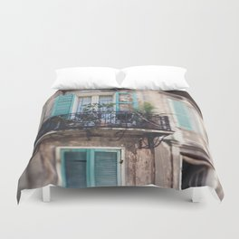 New Orleans - Close Your Eyes and Dream Duvet Cover