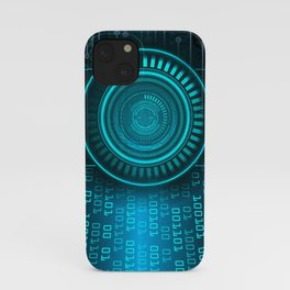 Futurist Matrix | Digital Art iPhone Case