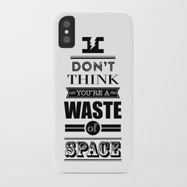 HP Quotes - Deathly Hallows iPhone Case