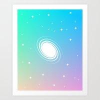 Von Neumann Machine – galaxy Art Print