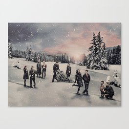 Christmas / OUAT Group Canvas Print