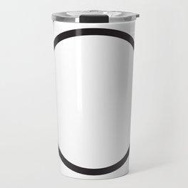 Minimal Circle Travel Mug