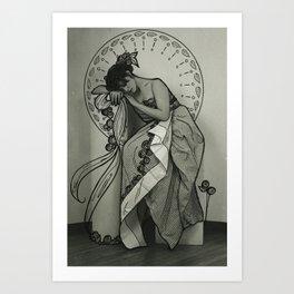 nouveau love. #1 Art Print