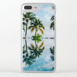 Mirror jungle Clear iPhone Case
