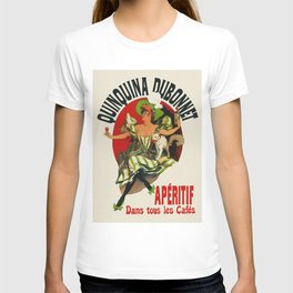 Vintage Aperitif Bar Decor Ad T-shirt