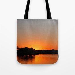 Sunset at Sunset Bay Tote Bag