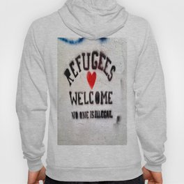 Refugees Welcome Hoody