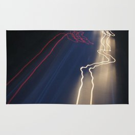 Whizzing Lights Rug