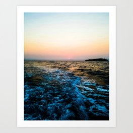 Channel Island Sunrise Art Print