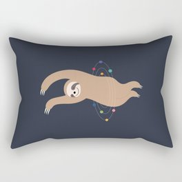 Sloth Galaxy Rectangular Pillow