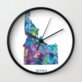 Idaho Wall Clock