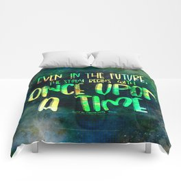 Once Upon A Time (Cinder) Comforters