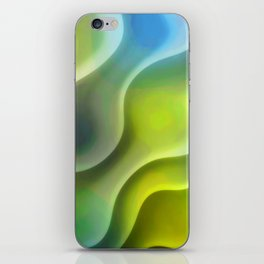 Vagues folles iPhone Skin