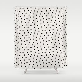 Perfect Polka Dots Shower Curtain