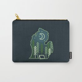 Michigan Camping - Summer Carry-All Pouch