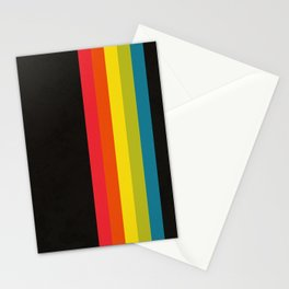 Retro Camera Color Palette Stationery Cards