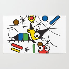 Ooh Zoo – art-series, Miro Rug