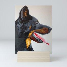 beauceron Mini Art Print